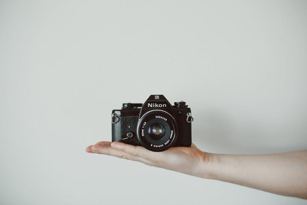 Analoge camera reparatie