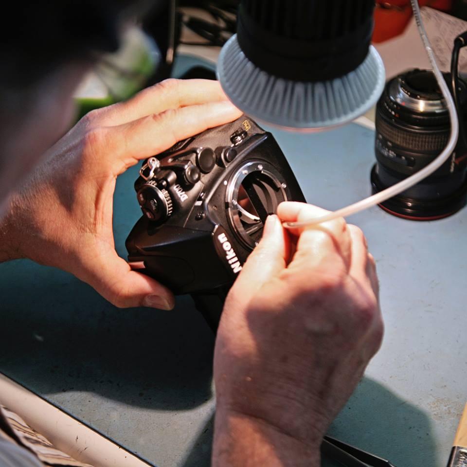Camera Sensor Reiniging